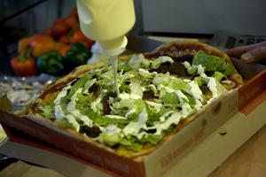 Avestabornas favoritpizza är Kebabpizzan. Foto: Maja Suslin/TT