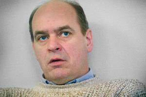 """""""Jag tror att vi i april kommer att ha en stor byggarbetsplats i Verksmon"""", säger Bengt-Olov Karlsson."""