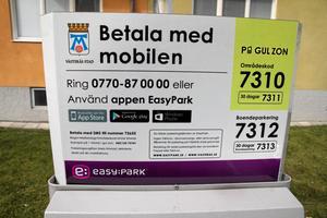 Parkeringsautomat, Easy park