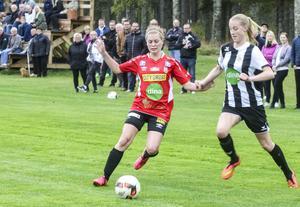 Clara Eriksson och Ljusne hade greppet om division 2-platsen i drygt en halvlek.