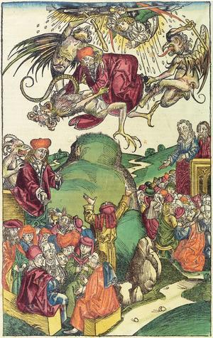 Antikrists och de falska profeternas ankomst.