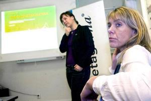 Småföretagarbarometern brukar presenteras höst och vår av Företagarna och Swedbank. Åsa Bergström–Schahine och Annica Åslund presenterade dystra siffror också för två år sedan.FOTO: HÅKAN LUTHMAN