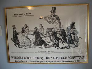 Interiör från Gula Villan i Södertälje.