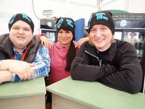 Trion bakom Åre Gastronomy Week - Erik Sundsten, Bri Stundon och Kalle Hedman.