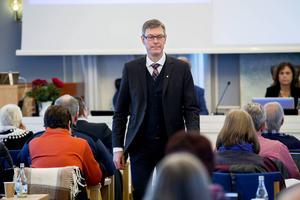 Landstingsstyrelsens ordförande Erik Lövgren (S).