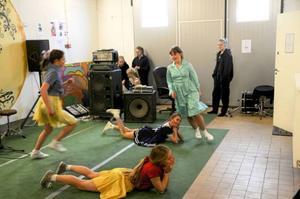 Wendlas höll i gång och dansade rockabilly.