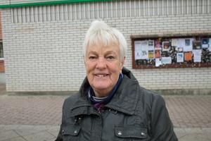 Ingrid Åhlén, Hallstavik: Jag går inte ut så mycket. Förut när jag inte hade bilen var jag ute med hunden, men det var väl tidigt, busarna är väl ute senare. Det är klart att man var säkrare när man hade hunden, man var tryggare.
