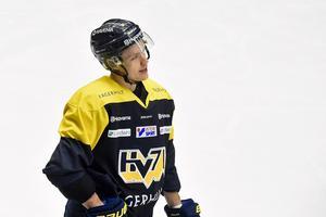 Didrik Strömberg tacklar mest i HV71.