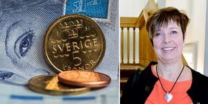 Regionrådet Ingeborg Wiksten (L) ger besked att det inte kommer att bl någon skattehöjning i år inom Region Västernorrland.