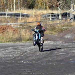 Även nästa år ska Stefan Gallon köra i Novemberkåsan, om han får som han önskar. Foto: Roger Johnson, rogersfoton.se