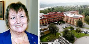 Elisabet Lassen (S) skriver i sin insändare att det inte finns någon majoritet för en akut kirurgi i Sollefteå dagtid. Foto: Ove Öst och Hanna Persson.