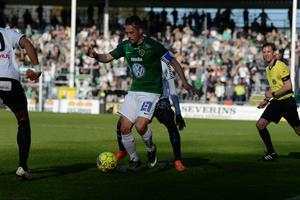 Fredric Fendrich utgick efter 45 minuters spel mot Brage.