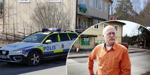 """""""Jag var hemma på lunch när rånaren kom in i butiken"""" berättar butikschefen Per-Olov Sonefors."""