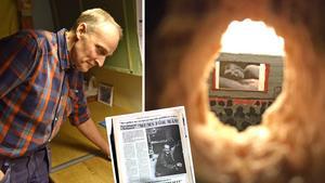 """Görans pappa tog porren till Mellansel – själv tjuvkikade han genom hål i väggen: """"Väldigt spännande"""""""