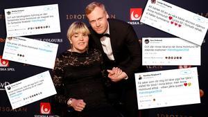 Anna Holmlund hyllas i sociala medier efter Idrottsgalan.