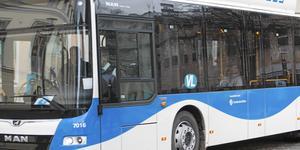 Busslinjen leds om, men påverkar inga hållplatser.