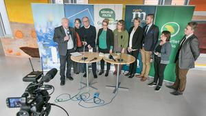 Det nya styret i region Jämtland Härjedalen presenterade sig.  Det här är en ledartext av Patrik Oksanen, ledarskribent på Östersunds-Posten (c).