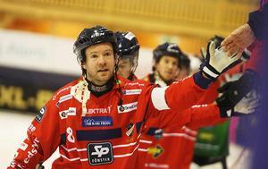 Jonas Edling stod för ett klassmål mot Tillberga.