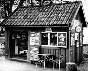 Boulognern. Glasskiosk. 1966.