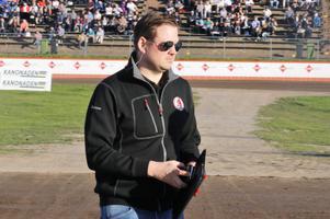 Peter Johansson, lagledare Indianerna.