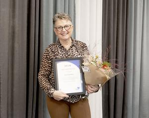 Kicki (Christina) Ejmefors är Årets Mentor.