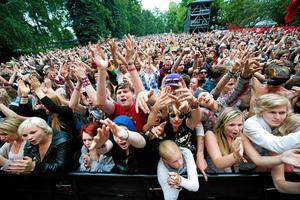 Nu har Peace & Love släppt de första biljetterna till nästa års festival – som äger rum den 5-7 juli.  Foto: Mikael Hellsten/Arkivbild