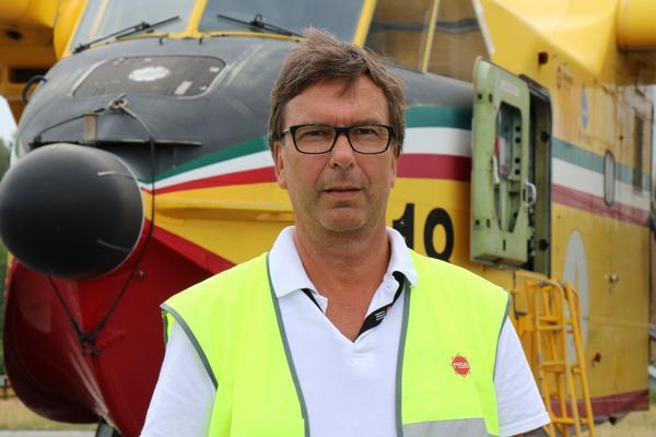 Lars Johansson, projektledare på MSB.