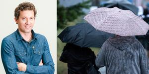 Hösten kan vara nära nu för Medelpad, enligt meteorolog Per Holmberg. Fotot är ett montage. Bilder: Foreca / TT