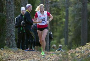 Hässelbys Emma Jansson var snabbast av damerna.