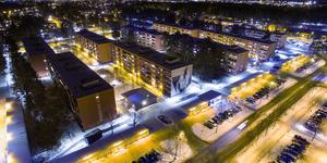 Allt fler flyttar in till städer som Gävle.