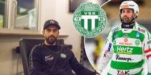 Han debuterade i VSK:s a-lag säsongen 2001/02. På onsdagen gör Magnus Joneby sin 500:e elitseriematch.