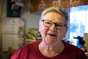 Hjördis Gustavsson brinner för Björna fiskevårdsförening. Sedan några år är hon ordförande i föreningen.