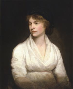 Mary Wollstonecraft 1797. Målning av John Opie.