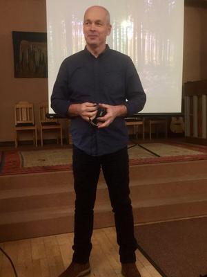 Torgny Näsholm, professor vid Sveriges Lantbruksuniversitet. Foto: Kerstin Franzén