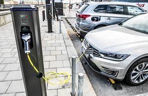 En bilpool är en del av delningsekonomin. Foto Lars Pehrson/TT