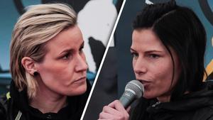 Johanna Pettersson och Linda Odén – båda i nykomlingslag.