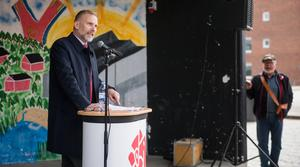 Kommunstyrelsens ordförande, Stefan Dalin (S).
