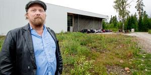 Anders Olsson är studierektor för Kulturreservatets  folkhögskola som startade i höstas.
