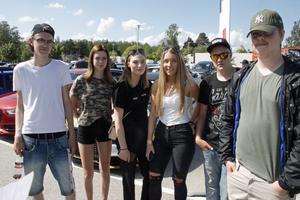 Oscar Jäderberg, Sofia Dannberg, Alma Åkerling, Alicia Richardsson, Isak Hedén och Benjamin Eriksson.