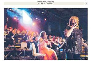 Kicki Danielsson är en av många som har fått äran att vara konferencier på nyårskonserterna.