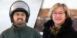 Nicklas Jansson och Mait Sandgren svarade på frågan i Nolbybacken.