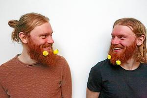 Tvillingbröderna Fryklund.