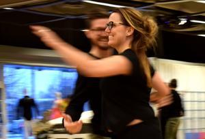 Jessica Kåla och Thomas Gilén  säger att lokalerna blir bättre än vad de hoppats på.
