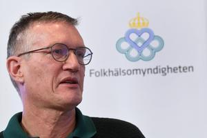 Statsepidemiolog Anders Tegnell på Folkhälsomyndigheten.