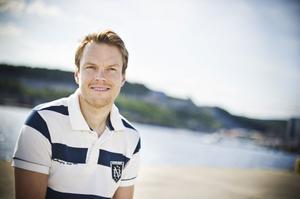 Anders stortrivs med livet i Uddevalla tillsammans med sin Johanna.