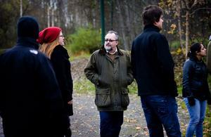 Lars Wallman har hämtat idén med promenadmöten från Försvarsmakten där han tidigare arbetat.