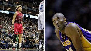 """Efter dödsolyckan – så kommer Örebros basketstjärna att minnas Kobe Bryant: """"Min tids Michael Jordan"""""""