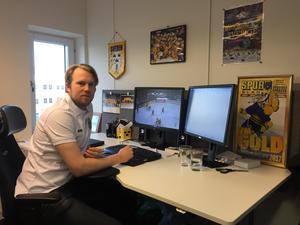 Johan Andersson i sin