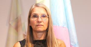 Anna Nyberg har vernissage för sin utställning på Norrtälje konsthall.