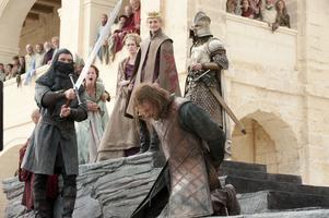Dags att halshugga Ned Stark. Foto: HBO via AP